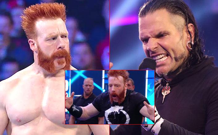 WWE: SHOCKING! Jeff Hardy Throws His Urine On Sheamus