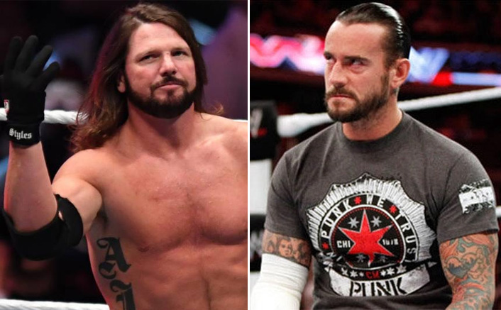 """WWE Star AJ Styles Takes A Dig At CM Punk: """"Not Going To React To People Saying Stupid Things"""""""
