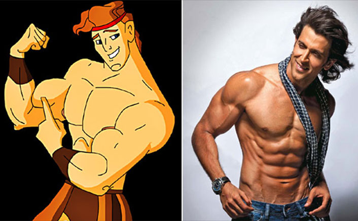 From Hrithik Roshan To Deepika Padukone, Celebs Who Are Like Cartoon Characters Hercules, Jasmine & Others!