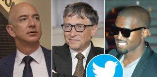 Kanye West, Elon Musk, Apple, Bill Gates
