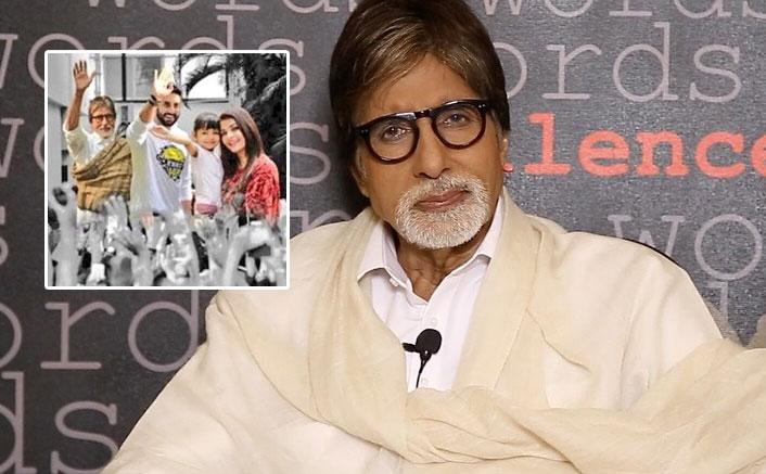 Amitabh Bachchan Shares An Adorable Picture With Aishwarya Rai & Family; Expresses Gratitude