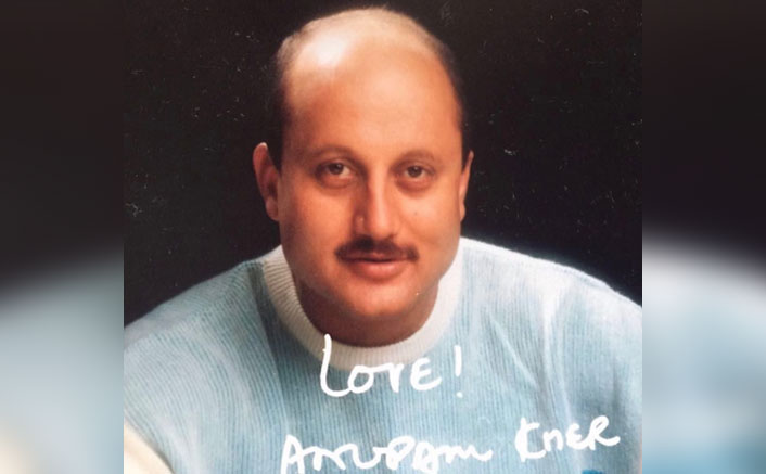 Anupam Kher shares his fantasy of sending autographed pics like in the old days(Pic credit: anupampkher/Instagram)
