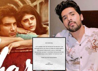 Armaan Malik postpones song release as mark of respect for Sushant
