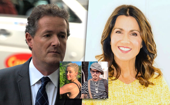 Battle of Words Between Piers Morgan & Susanna Reid as They Argue About Amber Heard and Johnny Depp(Pic credit: susannareid100/Instagram)