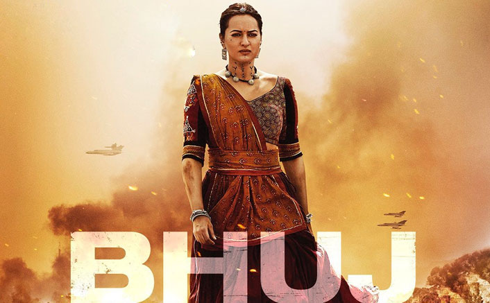 Bhuj: The Pride Of India First Look Feat Sonakshi Sinha Out: The Actress As Sunderben Jetha Madharparya Looks Thoughtful & Fierce