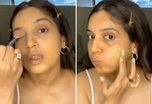 Bhumi Pednekar gives make-up lessons on social media