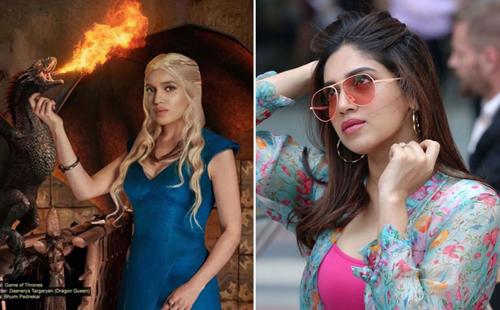 "Bhumi Pednekar Morphed As Game Of Thrones' Daenerys Targaryen, Says ""Winter Is Coming"""