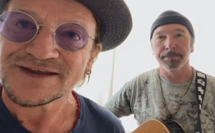 Led Zeppelin's Stairway To Heaven Reprised By Bono & The Edge Of U2 To Honor Crew, WATCH The Amazing Video!