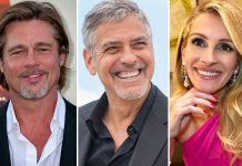 Brad Pitt & BFF George Clooney In A WAR? Courtesy, Julia Roberts!