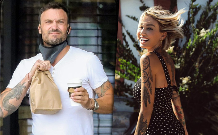 Did Brian Austin Green Just Confirm Relationship With Model Tina Louise In Their Latest Spotting?