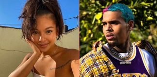 Chris Brown Calls Ammika Harris 'Mine' On Her Instagram Post, Netizens Want The Duo To Get Married