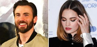 Chris Evans & Lily James Go On A Second Date, Guess How It Turned Out?