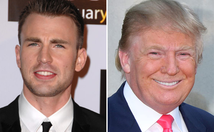 Chris Evans Shares Funny Video Ft. US President Donald Trump & Twitter Can't Stop Laughing!