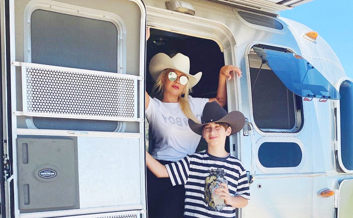 Christina Aguilera's Road Trip With Her Son Will Give You #VacayGoals(Pic credit: Instagram/xtina)