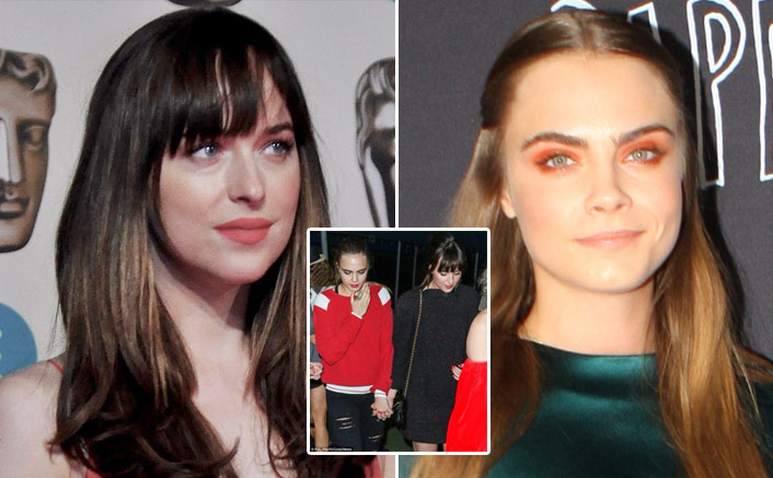 Dakota Johnson & Cara Delevingne Were Dating In 2016? Here's All We Know!(Pic credit: Twitter/d.)