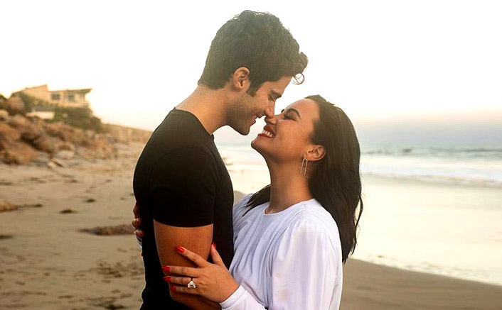 Demi Lovato-Max Ehrich Are Engaged & 'Sorry Not Sorry' But We're Jealous Of The Dreamy Proposal!