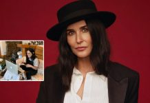 Demi Moore's Unique Washroom With A Carpet & Couch Has Got The Fans Go Berserk About It!