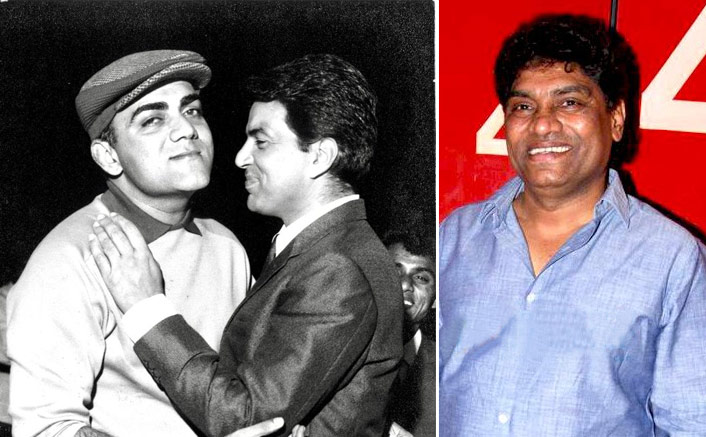 Dharmendra & Johny Lever Pay Tribute To Mehmood On His 16th Death Anniversary(Pic credit: Twitter/Dharmendra Deol)