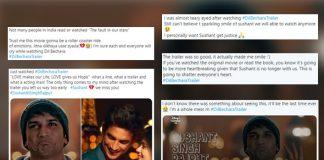 Dil Bechara Trailer Twitter Reaction: Sushant Singh Rajput & Sanjana Sanghi Fans Say They're Left Teary-Eyed & Heartbroken