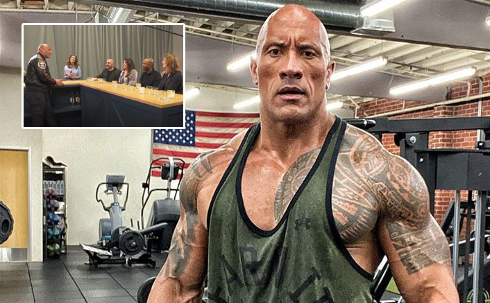 Dwayne Johnson AKA The Rock Throws A BIG SURPRISE During The Taste Testing Of His Tequila Brand, Watch Video(Pic credit: Instagram/therock)