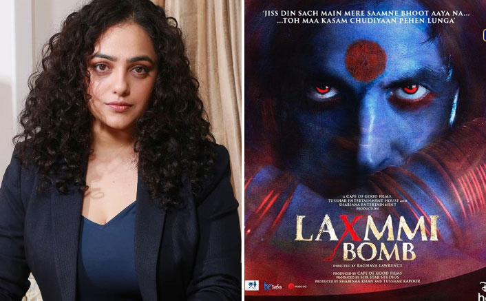 EXCLUSIVE! Nithya Menen Was Amongst The FIRSTS To See Akshay Kumar's Laxmmi Bomb Look