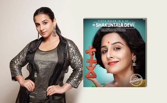 "EXCLUSIVE! Vidya Balan On A 'Female-Dominated' Shakuntala Devi: ""Having A Woman's Perspective… Makes All The Difference"""