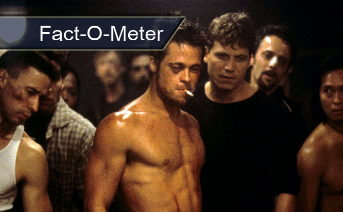 Fact-O-Meter: Brad Pitt's Fight Club Had A Warning Of 'Masturbation & Much More' Apart From The Usual Copyright One
