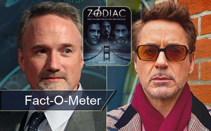 Fact-O-Meter: Did You Know? Robert Downey Jr Used URINE For Protest While Filming Zodiac