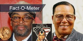 Fact-O-Meter: Did You Know? Spike Lee Had Removed Louis Farrakhan's Mention From Malcolm X Due To Threats