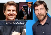 Fact-O-Meter: Did You Know? Tom Cruise Inspired Christian Bale For Patrick Bateman In American Psycho