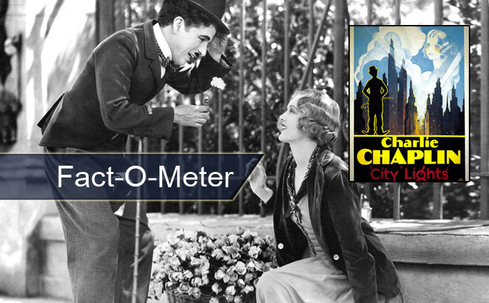 Fact-O-Meter: When Charlie Chaplin Took As MANY As 342 Takes From Virginia Cherrill For A 3-Minute Scene