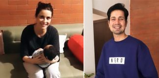 First Glimpse: Meet Sumeet Vyas And Ekta Kaul Baby Boy Ved