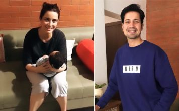 First Glimpse: Meet Sumeet Vyas And Ekta Kaul Baby Boy Ved