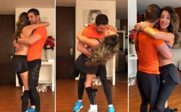 Former Miss Columbia Daniella Alvarez Dances To Her Favourite Song Just Three Weeks After Leg Amputation