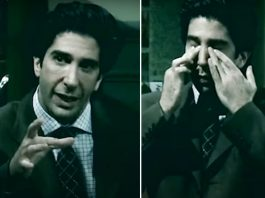 FRIENDS: David Schwimmer Gives Joaquin Phoenix's Joker Vibes In This Video Ft. Ross With No Laugh Track!