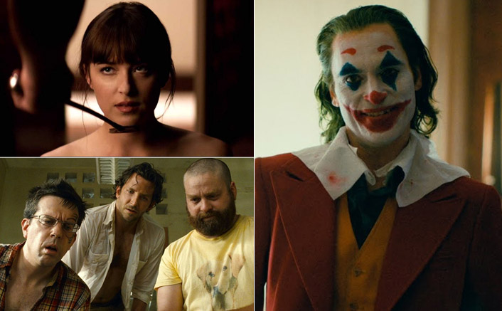 From Joaquin Phoenix's Joker To Dakota Johnson's Fifty Shades Of Grey - Take A Look At The Biggest 'Rated R' Hits