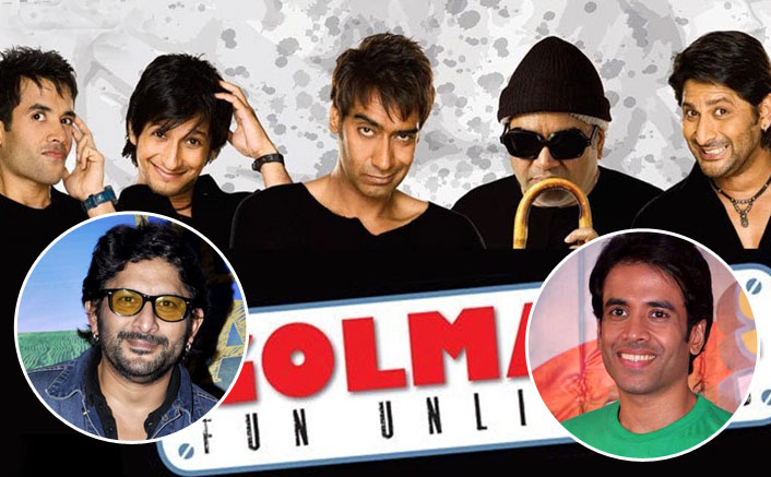 As Golmaal: Fun Unlimited Completes 14 Years, Arshad Warsi & Tusshar Kapoor Share Their Happiness