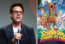 James Gunn and Scooby-Doo film post and Suicide Squad animated poster)