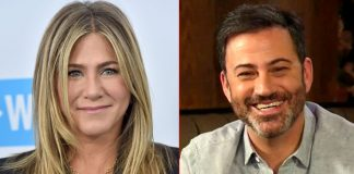 Jennifer Aniston & Jimmy Kimmel Team Up To Surprise A Nurse Battling COVID-19