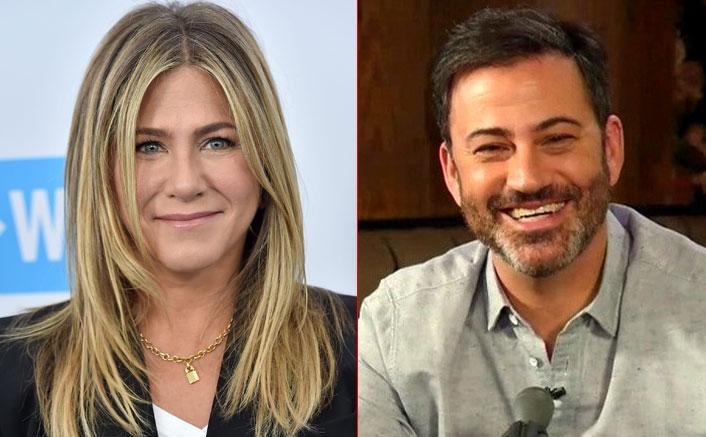 Jennifer Aniston & Jimmy Kimmel Team Up To Surprise A Nurse Battling COVID-19