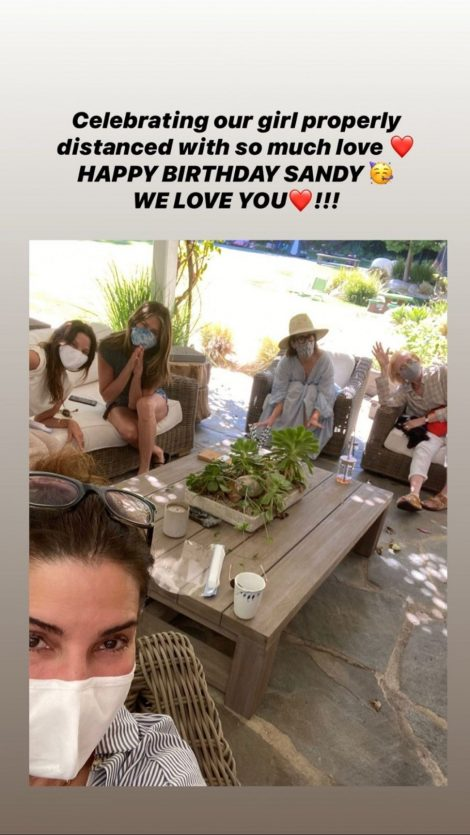 Jennifer Aniston/ Instagram