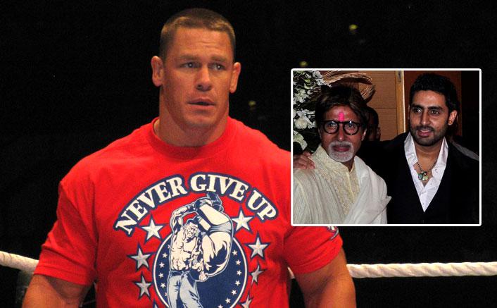 John Cena's Sweetest Gesture For Amitabh Bachchan & Abhishek Bachchan Will Make You Go Awww