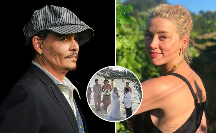 Johnny Depp & Amber Heard's Wedding Ceremony Had DRUGS Involved!(Pic credit: amberheard/Instagram)