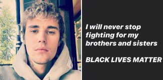 "Justin Bieber Comes Yet Again In Support Of #BlackLivesMatter & Says, ""I'll Never Stop Fighting For My Brothers & Sisters"""