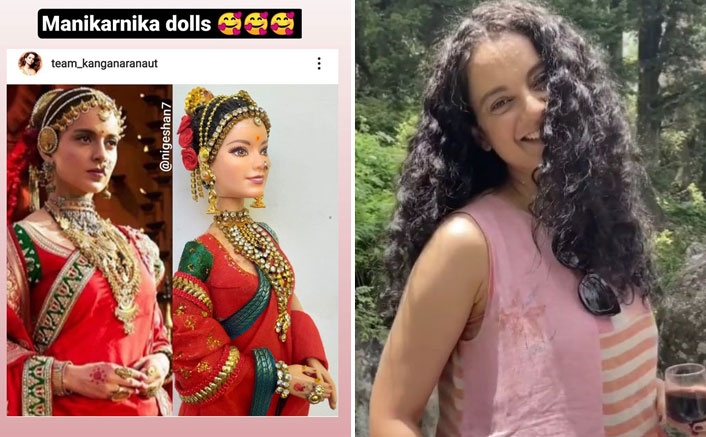 Kangana Ranaut Gets Her Own Customized Manikarnika Dolls, Check Out