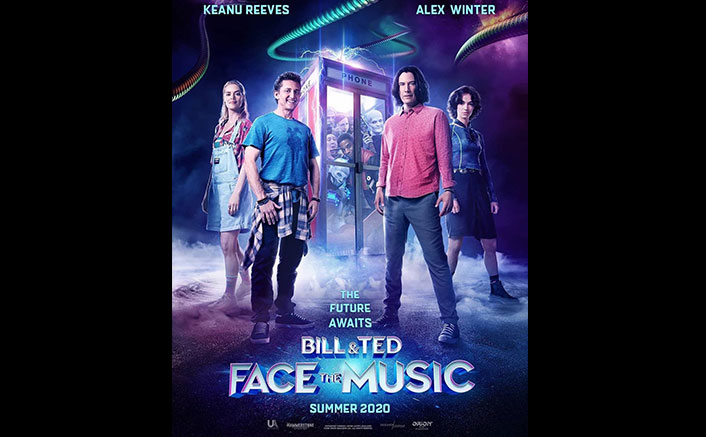 Keanu Reeves & Alex Winter are back as Theodore Logan & William Preston Respectively in 'Bill & Ted Face The Music'