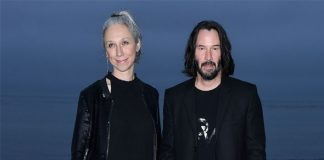 Keanu Reeves & Girlfriend Alexandra Grant Enjoy Dinner With Former's Matrix 4 Co-stars In Berlin