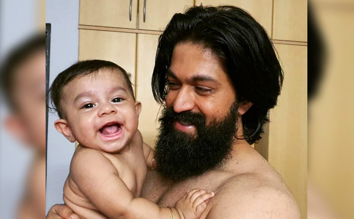 KGF 2 Star Yash's Son Turns 'Party Animal' As He Dances His Heart Out In A Toy Car, WATCH(Pic credit: Instagram/iamradhikapandit)