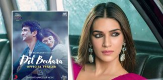 Kriti Sanon on 'Dil Bechara': Its gonna be really hard to watch this one