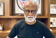 Latest Picture Of Rajinikanth Driving A Luxury Car With Facemask Goes Viral, Fans Trend #LionInLamborghini